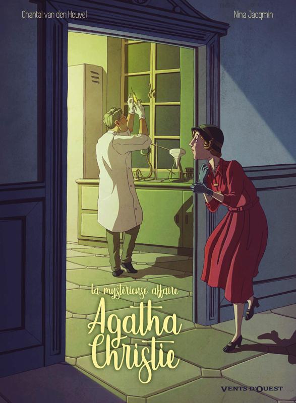 Mystérieuse affaire Agatha Christie T1, bd chez Vents d'Ouest de Van Den Heuvel, Jacqmin
