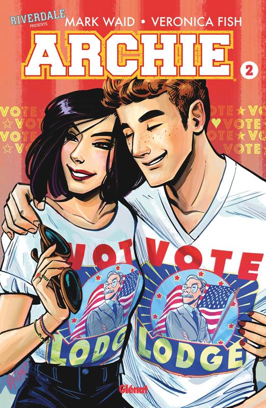Riverdale présente... T2 : Archie (0), comics chez Glénat de Waid, Fish