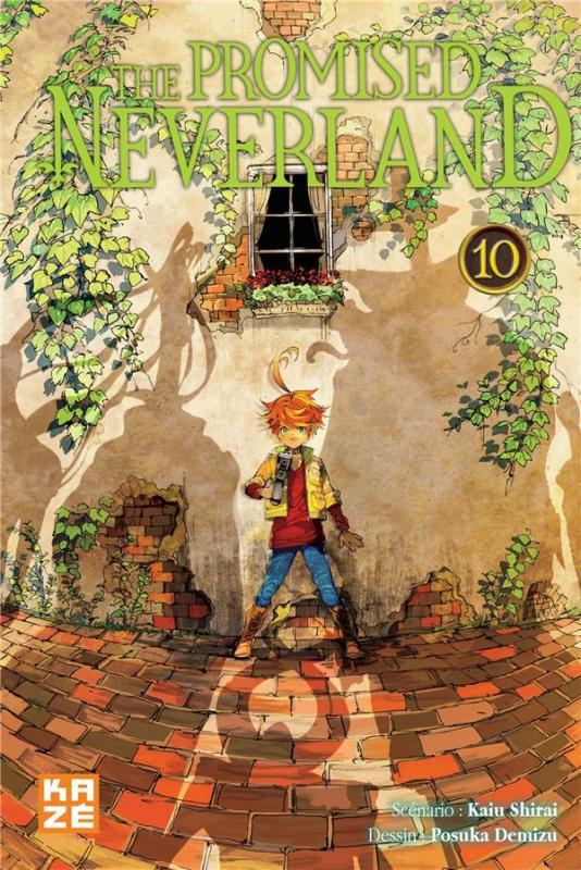 The promised neverland T10, manga chez Kazé manga de Demizu