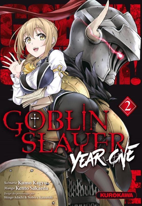 Goblin slayer - Year one T2, manga chez Kurokawa de Kagyu, Sakaeda