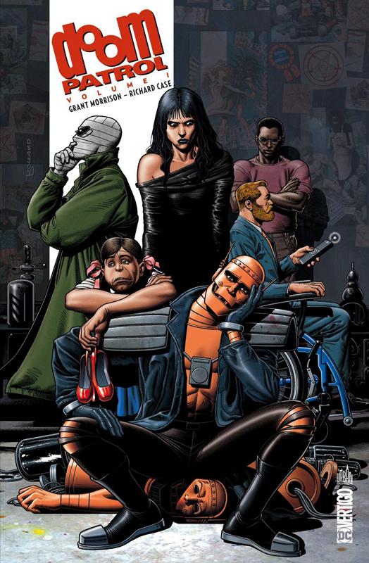 Doom Patrol  T1, comics chez Urban Comics de Morrison, Kupperberg, Bisley, Garzon, Byrne, Case, Hanna, Braithwaite, Wolfman, Gafford, Vozzo, Bolland