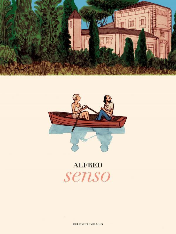Senso, bd chez Delcourt de Alfred