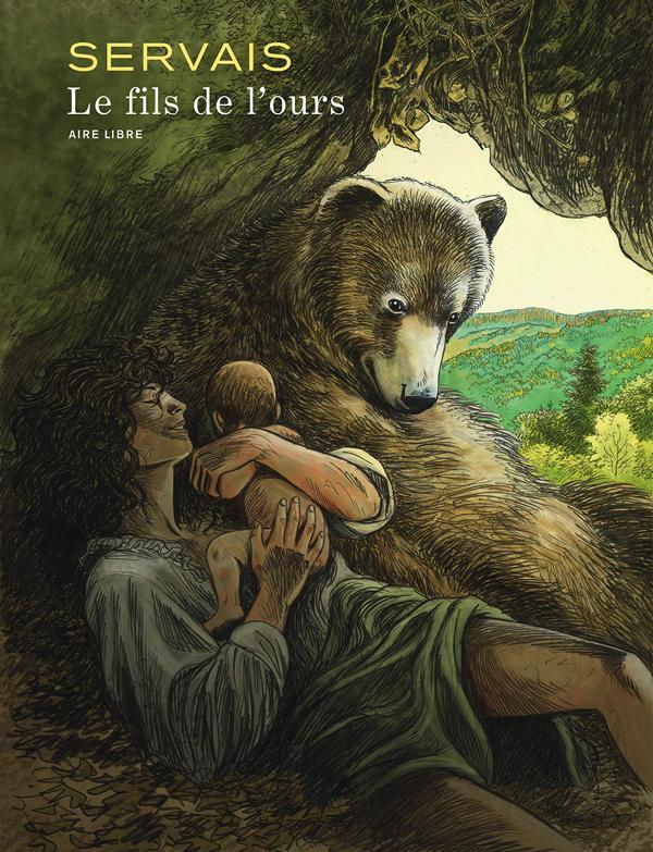 Le Fils de l'ours, bd chez Dupuis de Servais