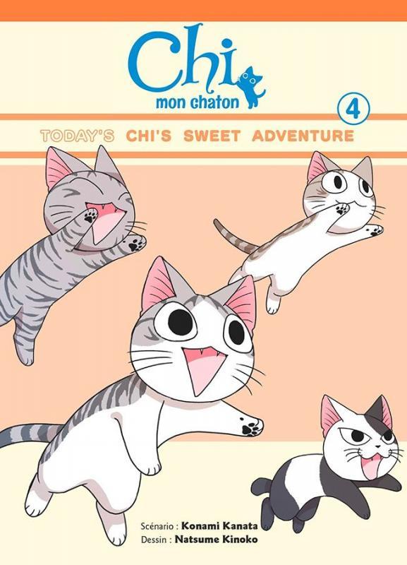Chi mon chaton T4, manga chez Glénat de Konami, Kinoko