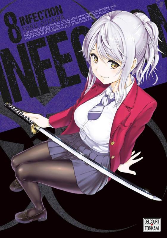 Infection T8, manga chez Delcourt Tonkam de Oikawa
