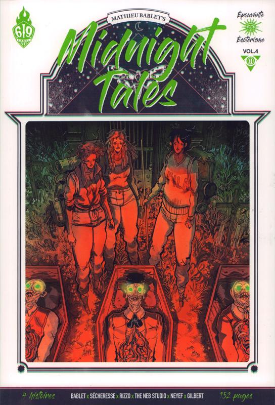 Midnight Tales T4, bd chez Ankama de Neb Studio, Rizzo, Bablet, Gilbert, Neyef, Sécheresse