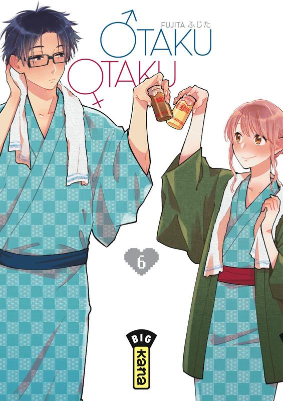 Otaku otaku T6, manga chez Kana de Fujita