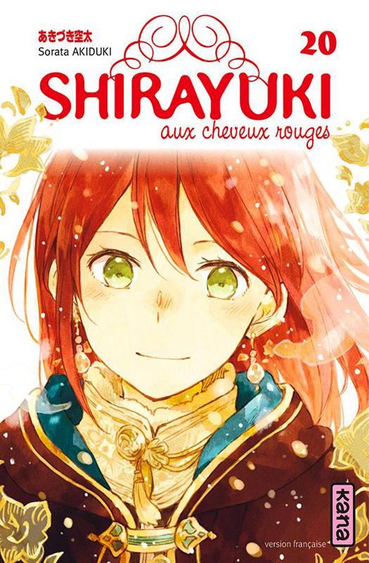 Shirayuki aux cheveux rouges T20, manga chez Kana de Akizuki