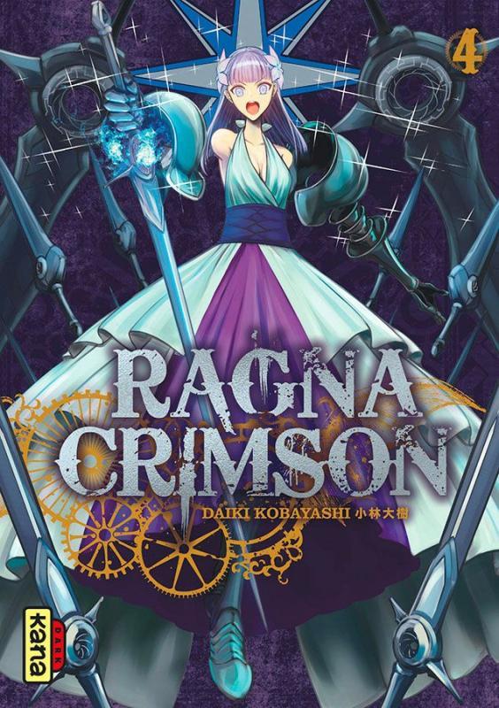 Ragna Crimson  T4, manga chez Kana de Kobayashi