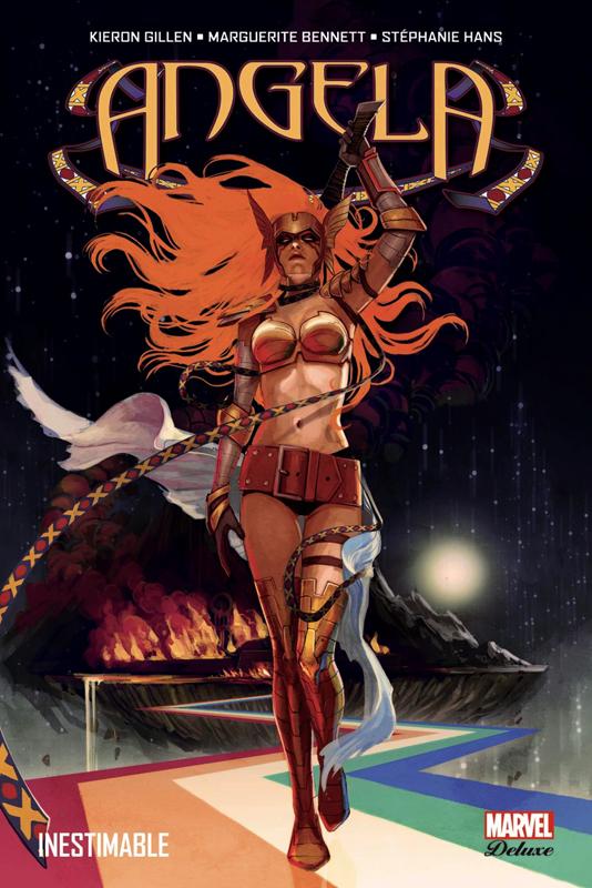 Angela : Inestimable (0), comics chez Panini Comics de Gillen, Benett, Jimenez, Hans, Fajardo Jr