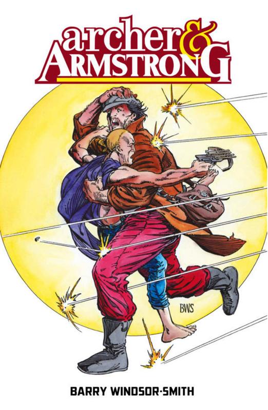 Archer & Armstrong, comics chez Bliss Comics de Windsor-Smith
