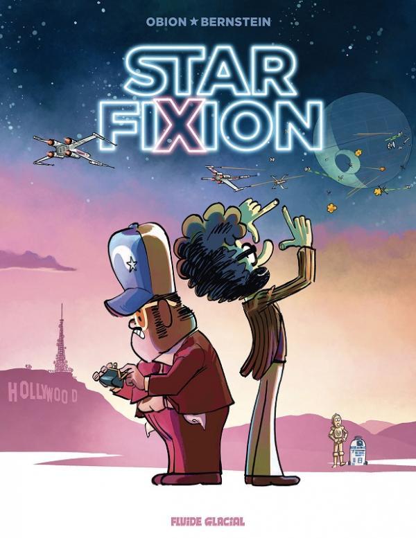 Star Fixion, bd chez Fluide Glacial de Bernstein, Obion