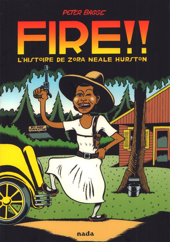 FIRE !! : L'histoire de Zora Neale Hurston (0), comics chez Nada éditions de Bagge