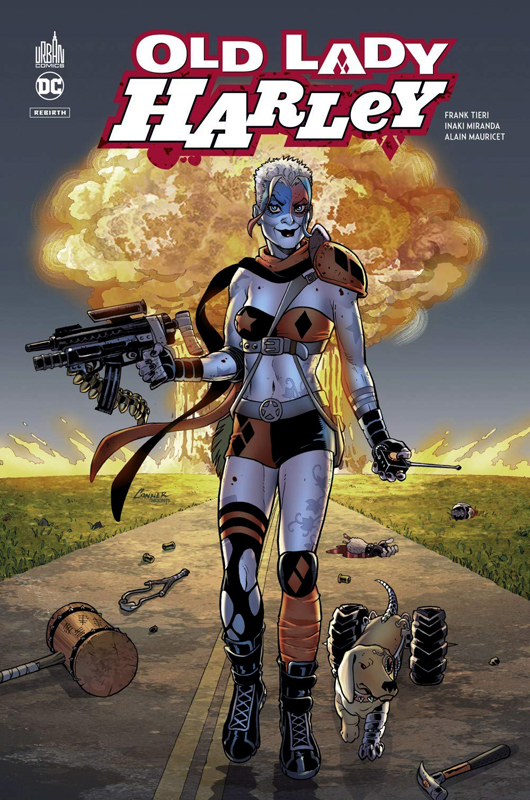 Harley Quinn T1 : Old Lady Harley (0), comics chez Urban Comics de Tieri, Mauricet, Miranda, Mounts, de La cruz, Conner