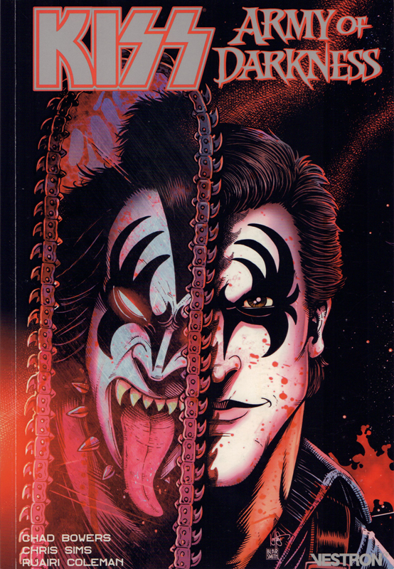 Kiss : Army of Darkness : Kiss my Ash ! (0), comics chez Vestron de Bowers, Sims, Montes, Coleman, Smallwood, Strahm, Brown, Smith, Haiser