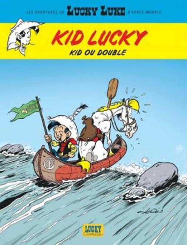 Kid Lucky T5 : Kid ou double (0), bd chez Lucky Comics de Achdé, Mel