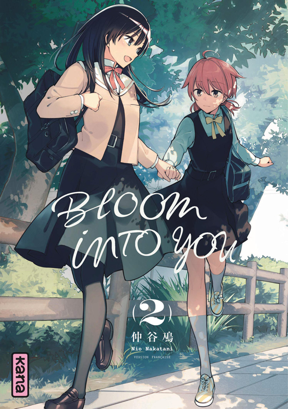 Bloom into you T2, manga chez Kana de Nakatani