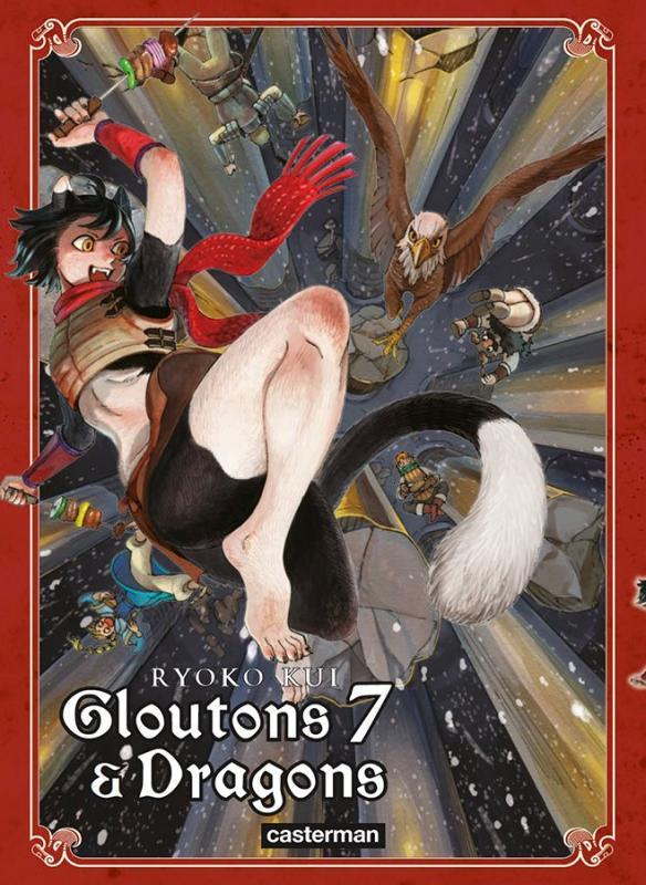 Gloutons & dragons T7, manga chez Casterman de Kui