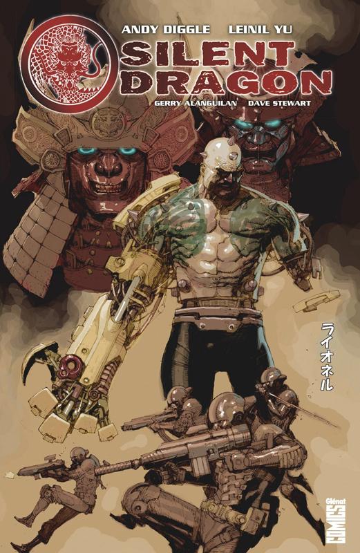 Silent Dragon, comics chez Glénat de Diggle, Yu, Alanguilan, Stewart