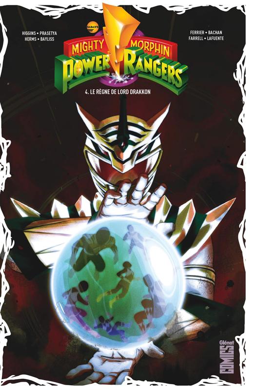Power Rangers T4 : Le règne de Lord Drakkon (0), comics chez Glénat de Ferrier, Higgins, Bachan, Bayliss, Prasetya, Herms, Farrell, Montes