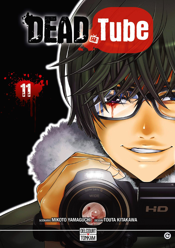 Dead tube T11, manga chez Delcourt Tonkam de Yamaguti, Kitakawa