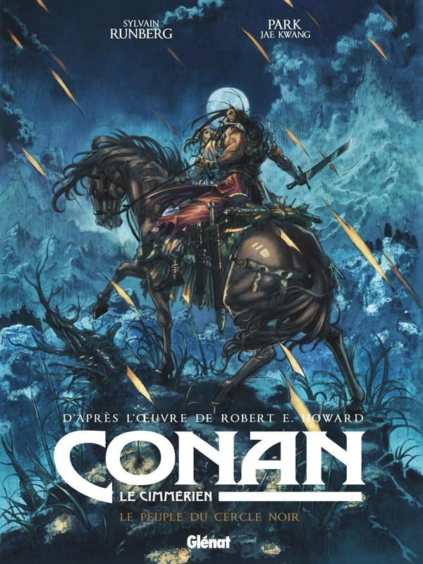 Conan le Cimmérien T8 : Le peuple du cercle noir (0), bd chez Glénat de Runberg, Park, de la Maison, Ooshima, Nocera