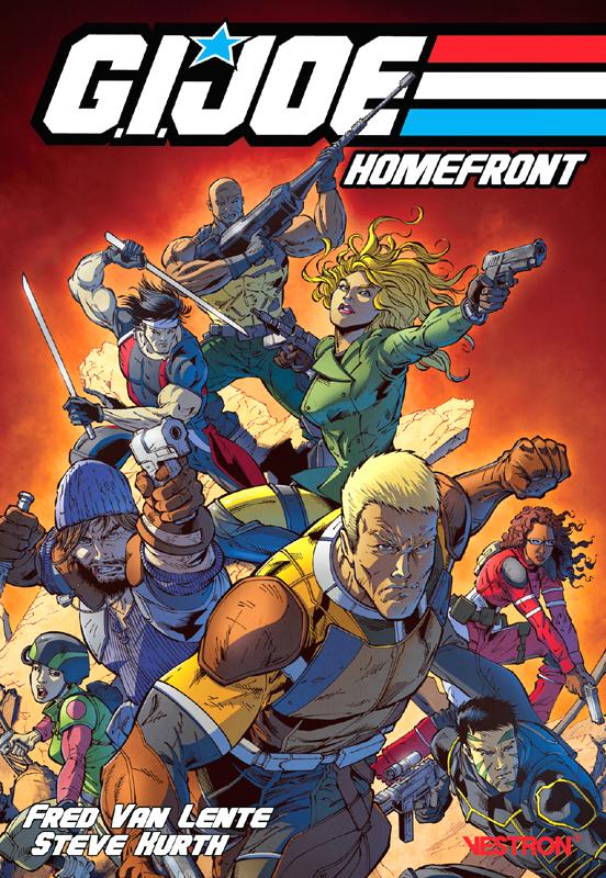Gi JOE : Homefront T1, comics chez Vestron de Van Lente, Kurth