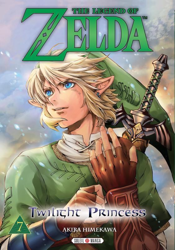 The legend of Zelda - Twilight princess T7, manga chez Soleil de Himekawa