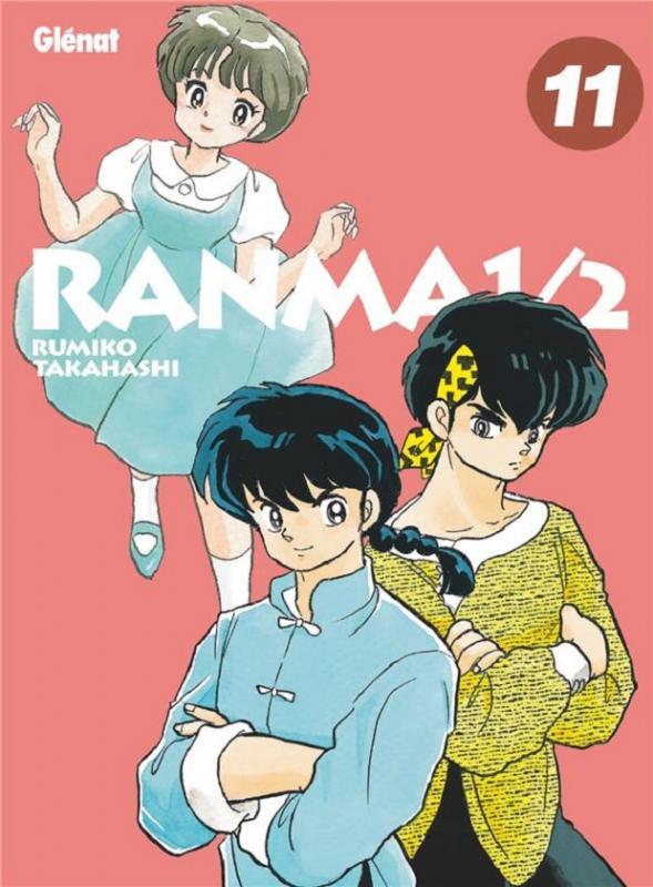 Ranma ½ T11, manga chez Glénat de Takahashi