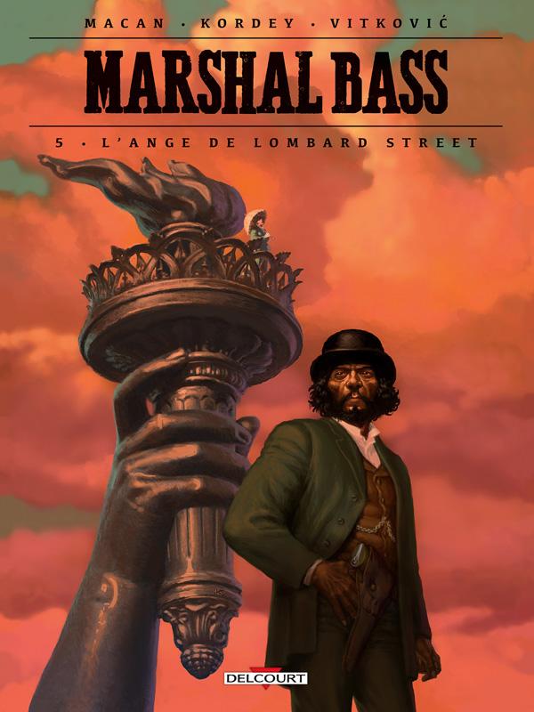 Marshal Bass T5 : L'Ange de Lombard Street (0), bd chez Delcourt de Macan, Kordey, Vitkovic