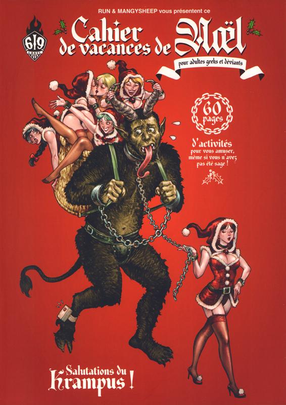 Cahier de vacances de Noël : pour adultes geeks et déviants (0), bd chez Ankama de Run, Mangysheep