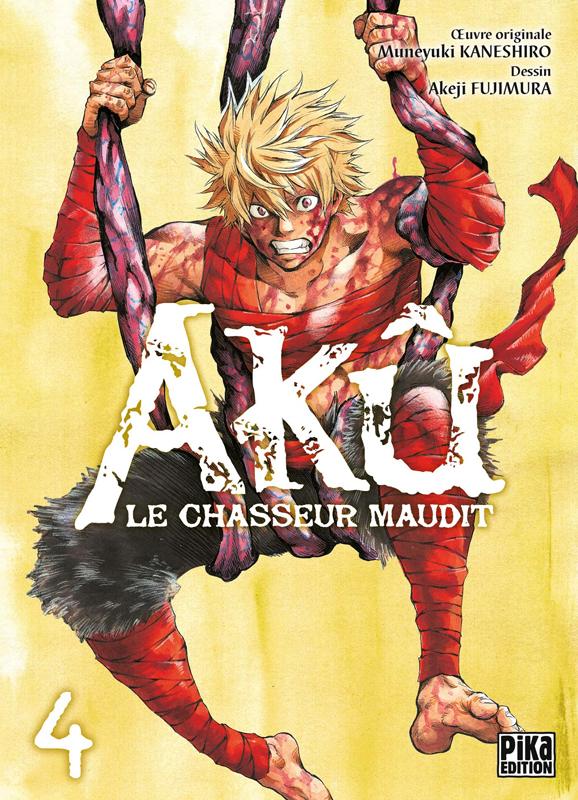 Akû, le chasseur maudit T4, manga chez Pika de Kaneshiro, Akeji