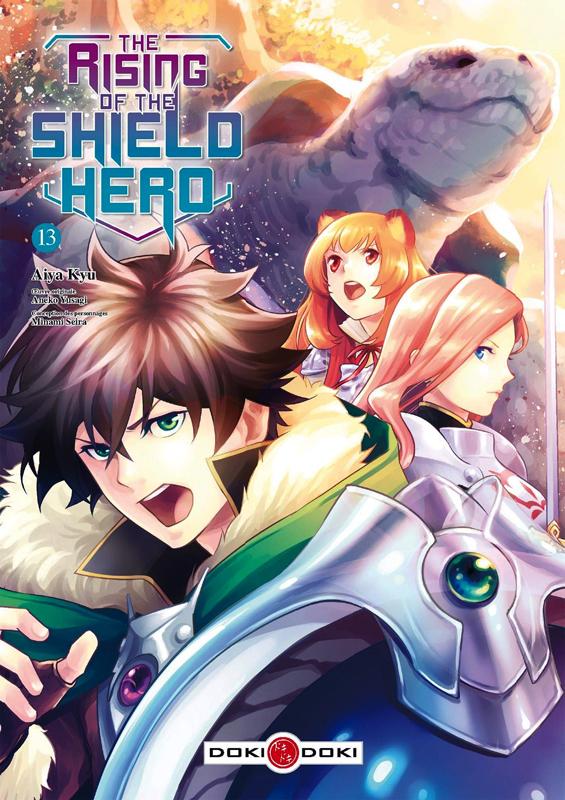 The rising of the shield hero T13, manga chez Bamboo de Aneko, Kyu