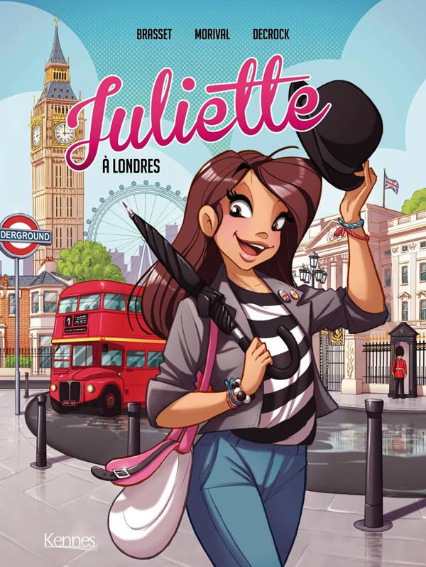 Juliette T3 : À Londres (0), bd chez Kennes éditions de Morival, Decrock