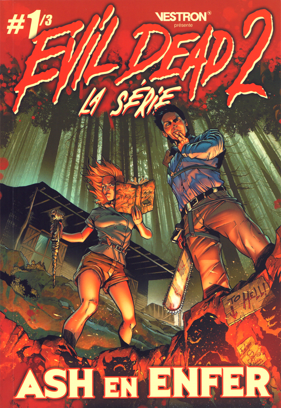 Evil Dead 2 : Vengeance  T1 : Ash en Enfer (0), comics chez Vestron de Hannah, Eduardo, Bazaldua, Summers, Castro, Salazar