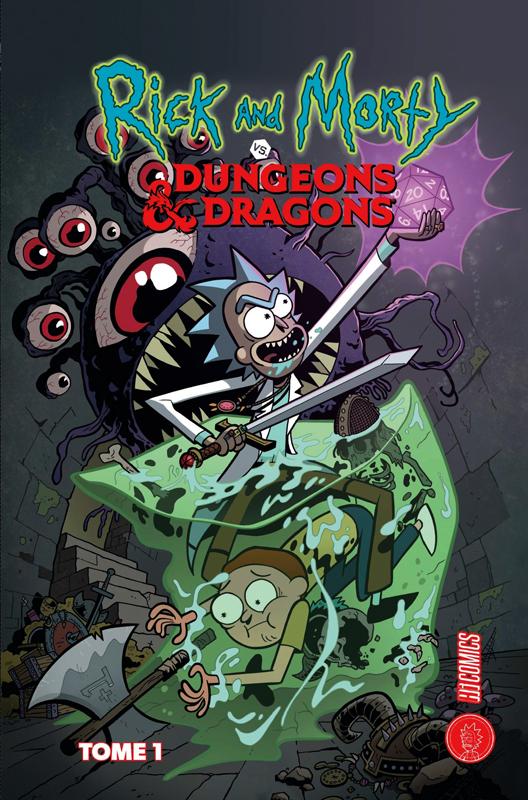 Rick and Morty Vs Dungeons & Dragons, comics chez Hi Comics de Rothfuss, Zub, Little, Ito