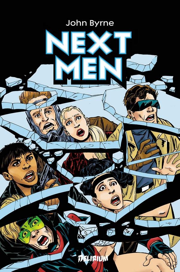 Next Men, comics chez Délirium de Byrne, Webb