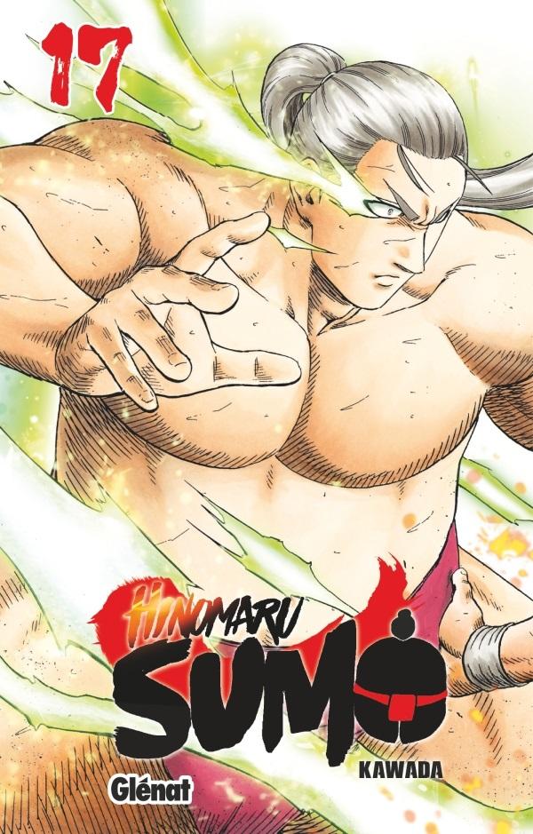 Hinomaru sumo T17, manga chez Glénat de Kawada
