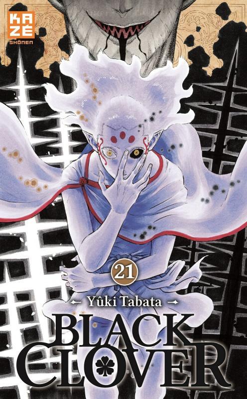 Black clover T21, manga chez Kazé manga de Tabata
