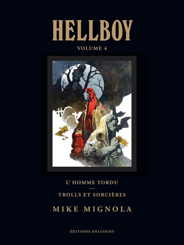 Hellboy T4 : Deluxe (0), comics chez Delcourt de Mignola, Stewart