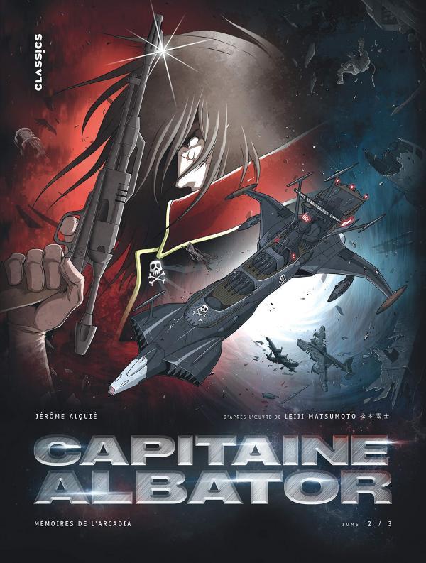 Capitaine Albator T2 : Mémoires de l'Arcadia (0), manga chez Kana de Alquié, Matsumoto