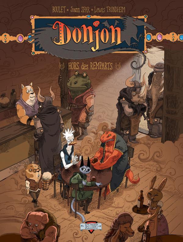Donjon zénith T7 : Hors des remparts (0), bd chez Delcourt de Trondheim, Sfar, Boulet