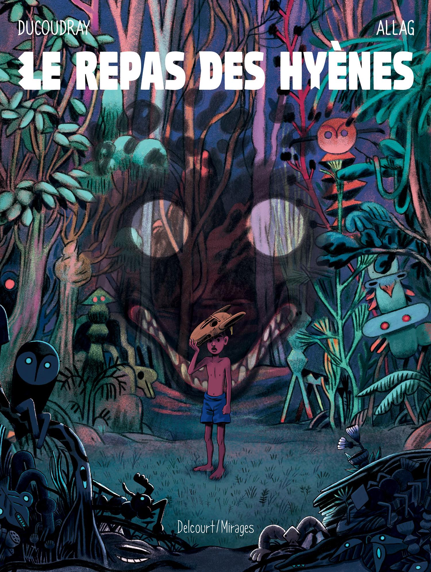 Le Repas des hyènes, bd chez Delcourt de Ducoudray, Allag
