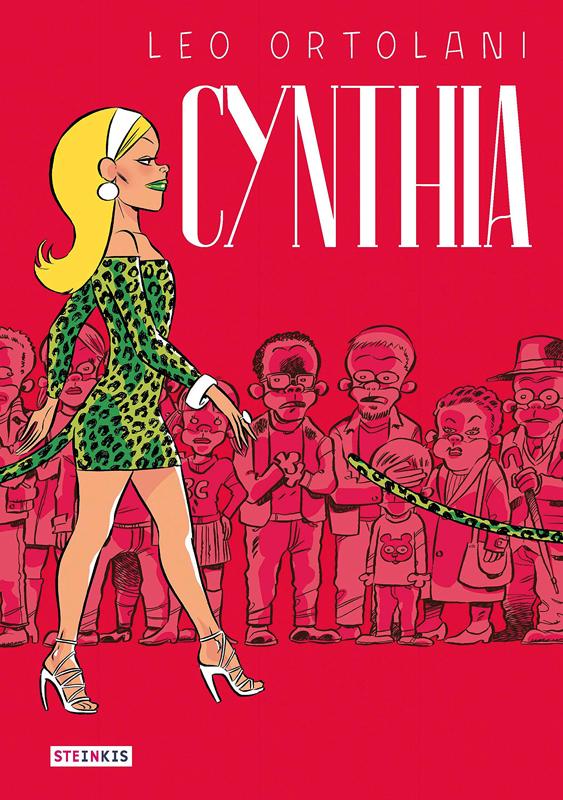 Cynthia, bd chez Steinkis de Ortolani