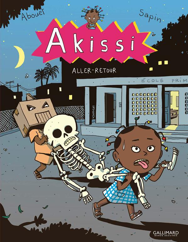 Akissi T9 : Aller-retour (0), bd chez Gallimard de Abouet, Sapin