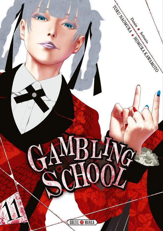 Gambling school T11, manga chez Soleil de Kawamoto, Naomura