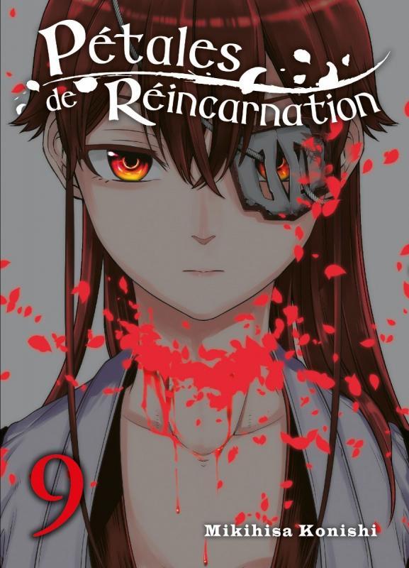 Pétales de réincarnation T9, manga chez Komikku éditions de Konishi