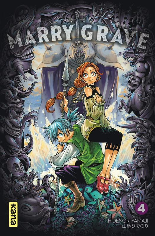 Marry Grave T4, manga chez Kana de Yamaji