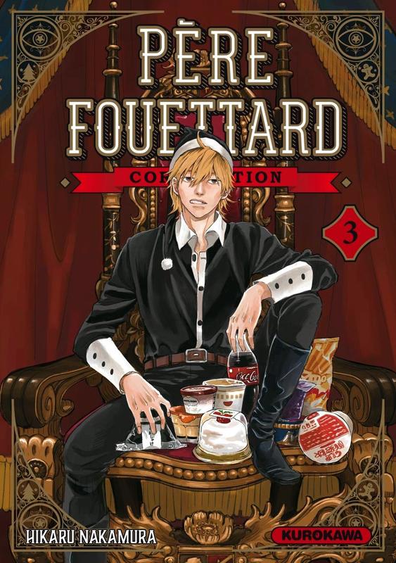 Père Fouettard Corporation T3, manga chez Kurokawa de Nakamura