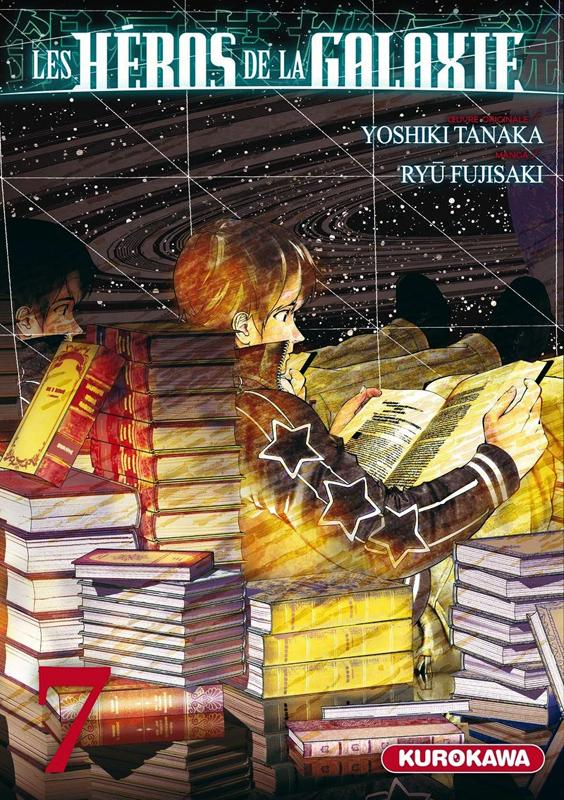 Les héros de la galaxie T7, manga chez Kurokawa de Tanaka